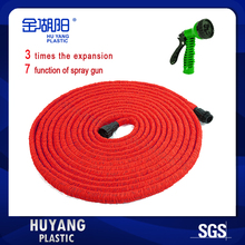 Free Shipping New Arrival Mangureia Expanding Flexible Red Garden Water Hose Pipe for Car Wash/Watering Flower/Garden Irrigation