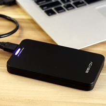FA-06US USB 3.0 to 2.5 Inch SATA Hard Drives SSD External Enclosure Storage Case for Laptop PC support 1TB HDD Black