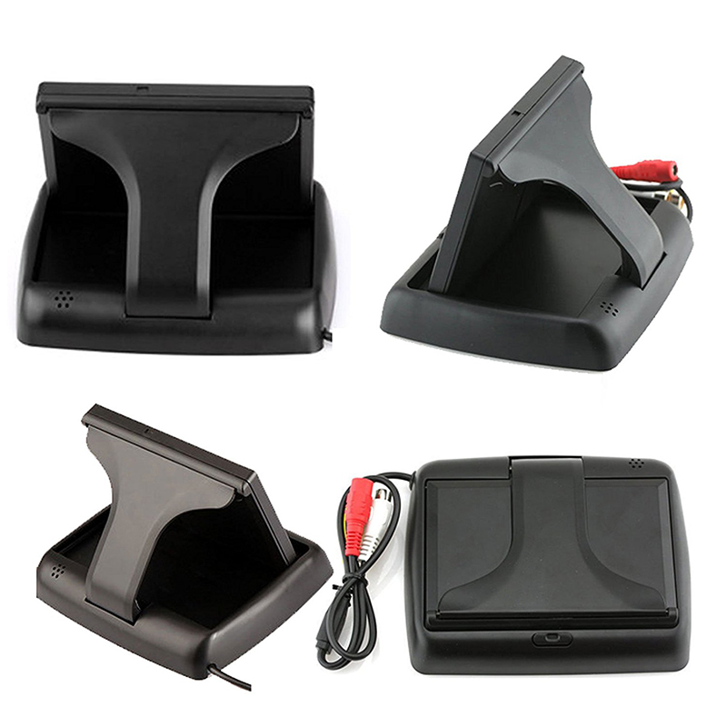 4.3 Inch Foldable Rearview Car Monitor Screen for Rear View Camera (8)