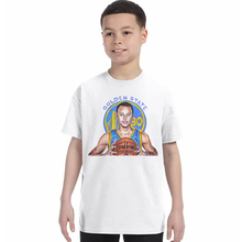 Casual Character Print Children T shirt boys 2017 Stephen Curry boys Cotton T-shirt White Short Sleeve kids Tops Hipster Tees(China)
