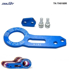 TANSKY - Anodized Universal Rear Tow Hook Billet Aluminum Towing Kit For JDM Racing TK-TH0185R(China)