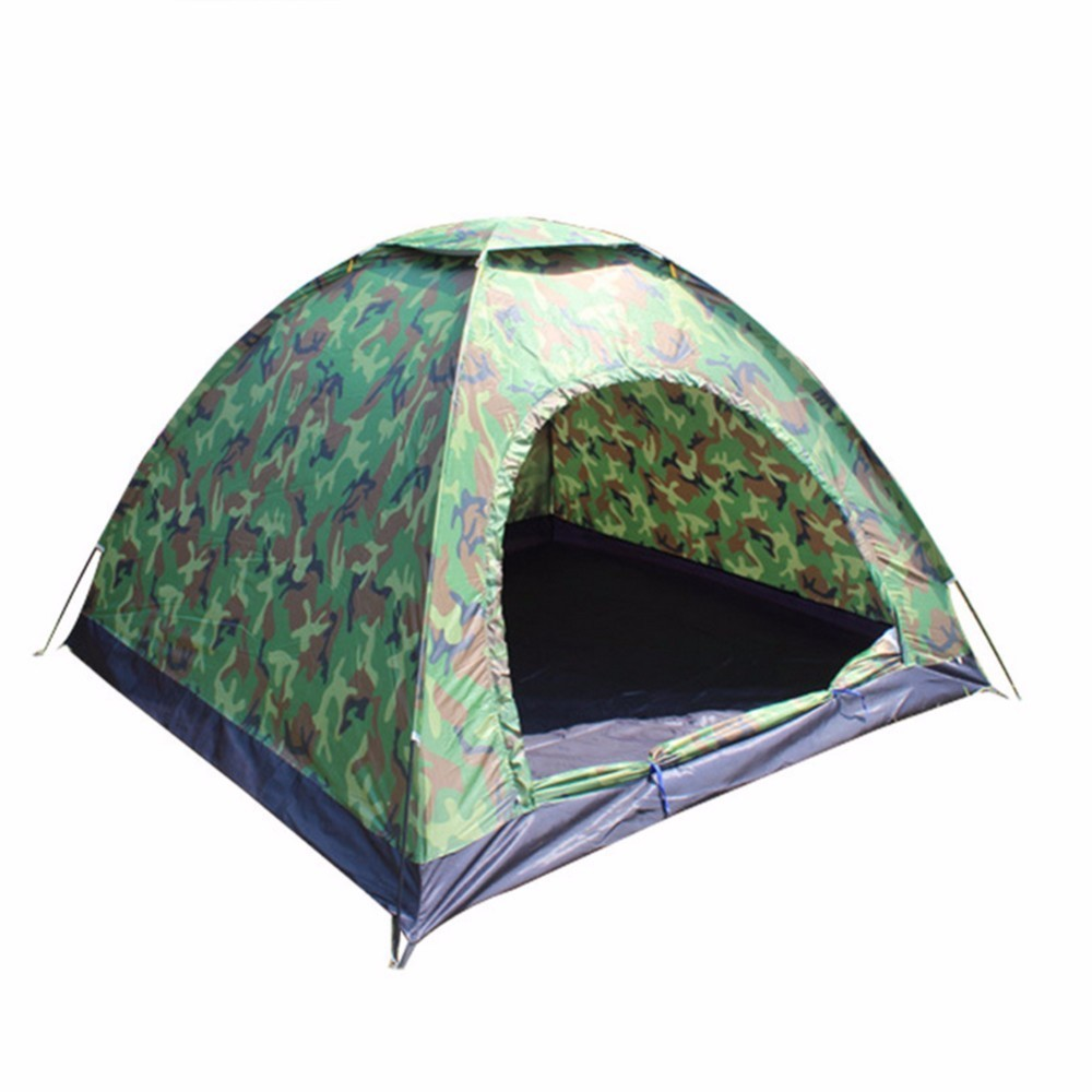 2017 Hot Sale High Quality Four-person Tent Outdoor Camping Single Tent Onebedroom Waterproof  Windproof Ultraviolet-proof Tent <br>