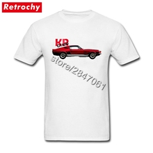 Big Tall Mustang CT500 Tee Men's Fashion Brand Short Sleeve Man T Shirt Summer 2017 Unique Apparel(China)