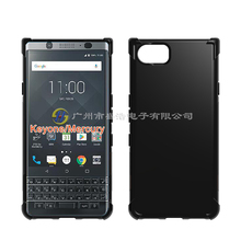 Soft TPU Case for Blackberry KEYone Mercury Silicone Shockproof Protection Case Cover Black & Transparent
