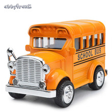 Abbyfrank 1:36 Pull Back Mini Car Moder Outdoor Toys For Kids Interactive Educational Plastic And Alloy Flashing Simulation Car(China)
