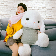 Sweaters Plush-Doll Lop Toys Cute Rabbits Stuffed Soft Animal Pillow Children Gift Baby