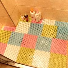 New Removable Bathroom Non-slip Pad PVC Mat Bath Shower Tub Bathing Rug Bathroom Mosaic Splice Puzzle Pad