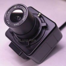 "Box style camera EFFIO-E 1/3"" Sony Super HAD CCD ICX810 ICX811 + CXD4151 CCTV camera module with CS LENs"