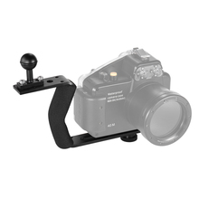 "Aluminum Alloy Diving Photography Handle Bracket with 1/4"" Screw for Underwater Camera Phone Housing"