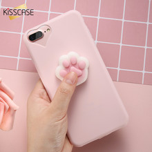 Buy KISSCASE 3D Cartoon Soft Case iPhone 5s 5 se Lovely Squishy Phone Case iPhone 7 6 6s Plus Ultra Slim Plastic Cover Coque for $2.99 in AliExpress store