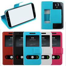 Cover Holster Flip PU Phone Case Sets For Apple iPhone 7Plus Samsung Galaxy J3 5 A7 2016 Shell Audio Video Support Large Widow