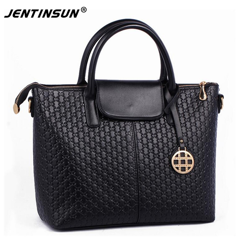 2017 Promotion Day Clutches Polyester Zipper Two Solid Soft Hot Sale Women Brand Shoulder Bag Handbags Tote Messenger Leather<br>
