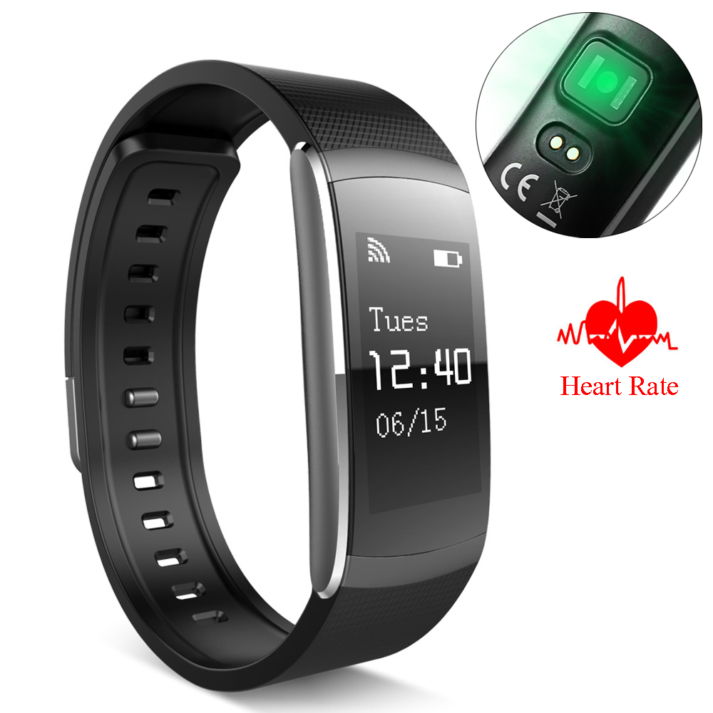 Heart Rate Monitor Smart Watch I6 PRO Sports Bracelet Fitness Tracker Sleep Band Call Reminder Wristwatch for Android iOS Phone<br>