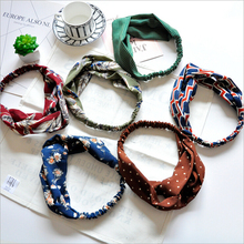 fashion women knot turban headbands hair head bands wrap accessories for women girls hair ornaments headband scrunchy headwrap