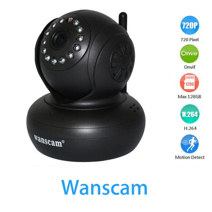 PROMOTION MODEL onvif Wanscam Security Camera HD 720P Wireless IP Camera Wifi Video Surveillance indoor Wi Fi Camera Infrared IR<br>