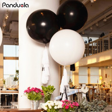 10pcs 18 Inches christmas halloween decoration Balloon Ball Helium Inflable Big Latex Balloons For Birthday Party Decoration(China)