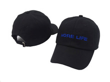 2017 New MORE LIFE Hat Aubrey Drake Graham Latest Album Exclusive Release Women and Men Dad Hat Quality Embroidery Baseball Cap