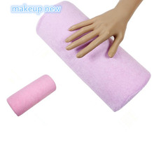 NEW hand rest Nail art manicure cushion Pillow Salon nail Hand Holder pillow soft Nail Arm Rest Manicure Accessories Tool