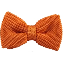 2016 Men Solid Knitted Bow Ties Fashion Casual Brand Ties T0047(China)