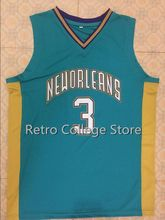 #3 Chris Paul Wake Forest College Basketball Jersey Embroidery Stitched Custom any Number and name(China)