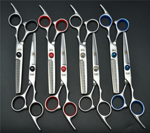 703 #6 ''Japan Kasho BESTNOTE Friseurscheren 6CR Fabrik Preis Friseure Cutting Schere Effilierschere Haarscheren(China)