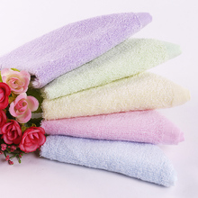 Small square bamboo fiber towels newborn babies children water absorbent towel washcloth slobber antibacterial bamboo charcoal