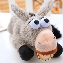 30Cm Electronic Pet Donkey Dog Toys Intelligent Voice Control Ha Ha Laugh Plush Donkey Toys Roll Wallow Funny Donkey Joke Toy