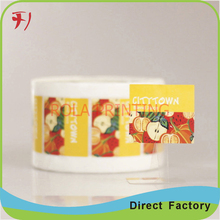 Customized 100% direct manufacture customized self adhesive serial number sticker(China)