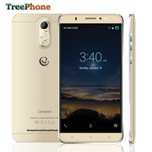 6.0 inch QHD IPS screen Gooweel M3 smart phone MT6580 Quad core mobile phone 1GB RAM 8GB ROM 8MP camera GPS 3G cell phone Gold(China)