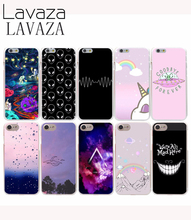 Lavaza 563E Hard Case for iPhone 7 8 6 6s 7 Plus 5 5s SE 5C 4 4s fundas Stars And Planets Space alien