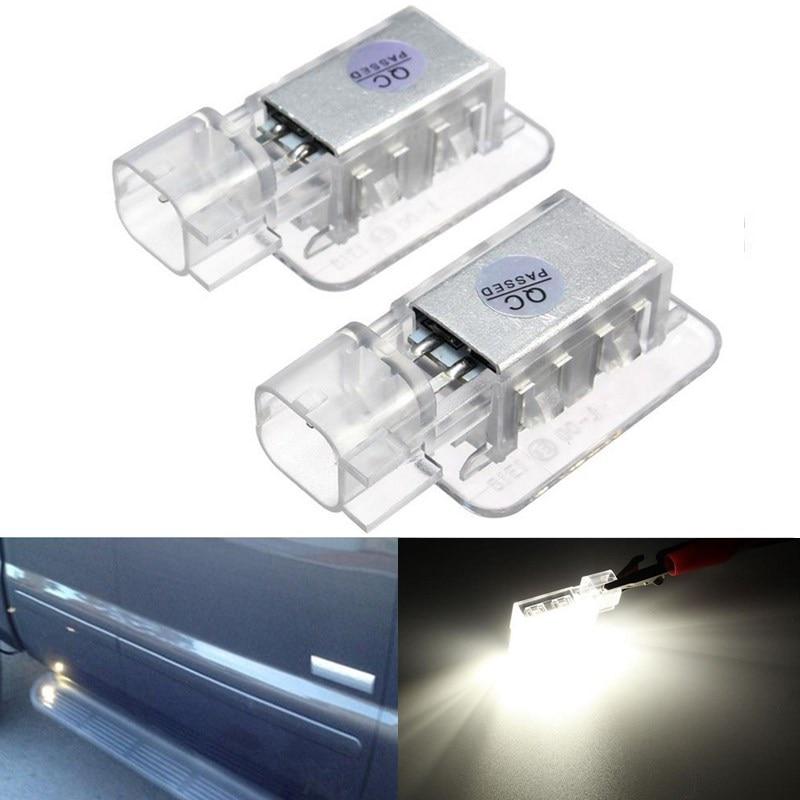 2Pcs Error Free 18 3528 SMD LED Boot Under Door Courtesy Light Lamp Bulb For Volvo C30 V70 XC70 XC90<br><br>Aliexpress