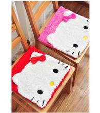 (5 Pcs/Lot) Lovely Fashion Hello Kitty Cartoon Home Use Chair Seat Car Cotton Cushion,Size 35*35*2 CM