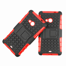 For Nokia Lumia 535 Case 1090 1089 Heavy Duty Armor Shockproof Hybrid Hard Silicone Rugged Rubber Phone Cover For Nokia 535 (<