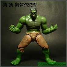 Animation Garage Kid American Superhero Model Toys: MARVEL Action Figure PVC Dolls Green Giant Hulk Model Excellent Gifts