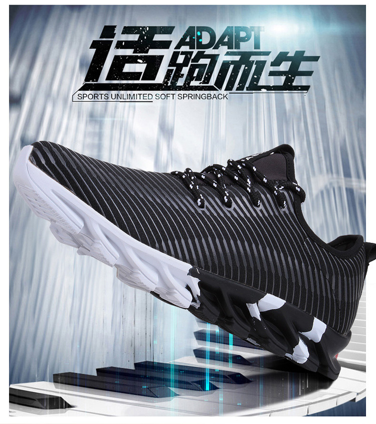17New Hot Light Running Shoes For Men Breathable Outdoor Sport Shoes Summer Cushioning Male Shockproof Sole Athletic Sneakers 3