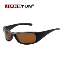 JIANGTUN New Stylish Sunglasses Polarized Glasses Black / Brown Super Cool Brand Designer Eyewear Driving Accessories