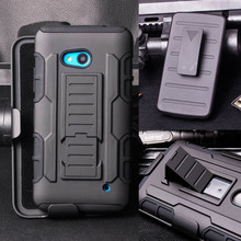 For Nokia Lumia 640 Case Impact Holster Shockproof Hard Phone Case Cover for Microsoft Nokia Lumia 640 Dual Sim / Lumia 640 LTE