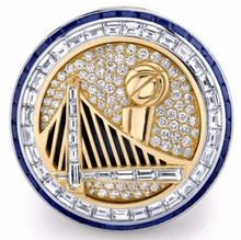 Drop Ship Replica championship ring 2017 Golden State Warrior ring National official Basketball World Championship Rings(China)