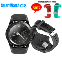 Buy 2017 Hot NEW G8 Smartwatchs Bluetooth 4.0 SIM Card Call Message Reminder Heart Rate Monitor Smart watchs IOS Android O3 for $38.40 in AliExpress store