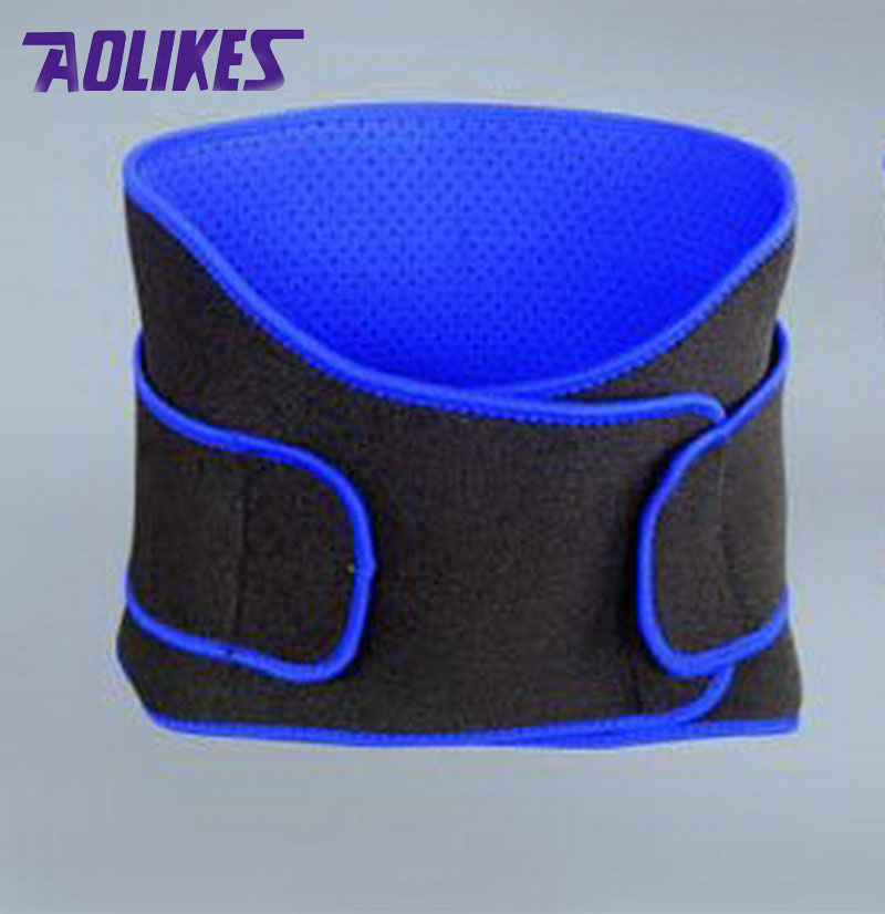 AOLIKES Breathable Sports Pressurized Back Waist Support Plus Size Elastic Fitness Bodybuilding Brace Weightlifting Belt<br><br>Aliexpress