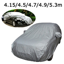 Full Car Cover waterproof Indoor Outdoor Car Covers atv cover Protection Car winter snow cover for Peugeot 307 Toyota VW golf 7(China)