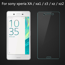 luxury tempered glass film for sony xperia xa screen protector xperia xz cover curved 3d edge for sony xperia z3 compact