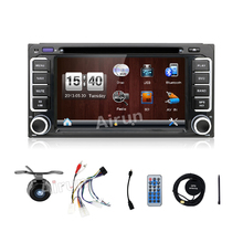 Windows 6.2inch In Stock Car DVD GPS Navigation for Toyota GPS Navigation Radio RDS DVD GPS Player Bluetooth