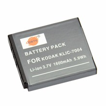 DSTE KLIC-7004 Rechargeable Battery for KODAK M1033 V1073 V1253 M1093 IS Zi8 Camera