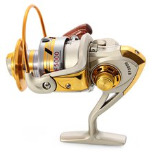 Europe Hot-selling EF - 7000 Metal Spool Spinning Fishing Reel Carretilha Pesca Wheel 10-Ball Bearing 5.5 :1 Fishing Reel Bait