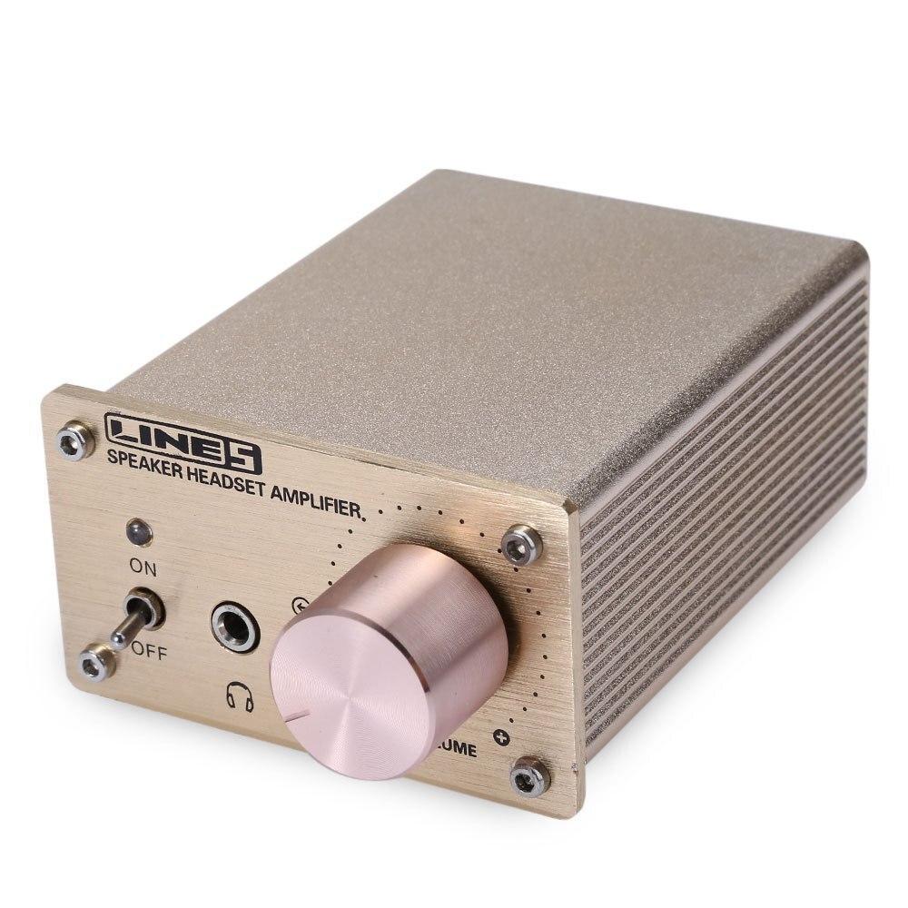 A910 Mini Headphone Amplifier Stereo Speaker Heads...
