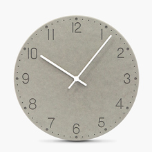 12 Inches Colorful  Wall Clock Modern Design Wooden Vintage Wall Clock Pendulum Mute Clock Safe Quartz Clock Movement Home