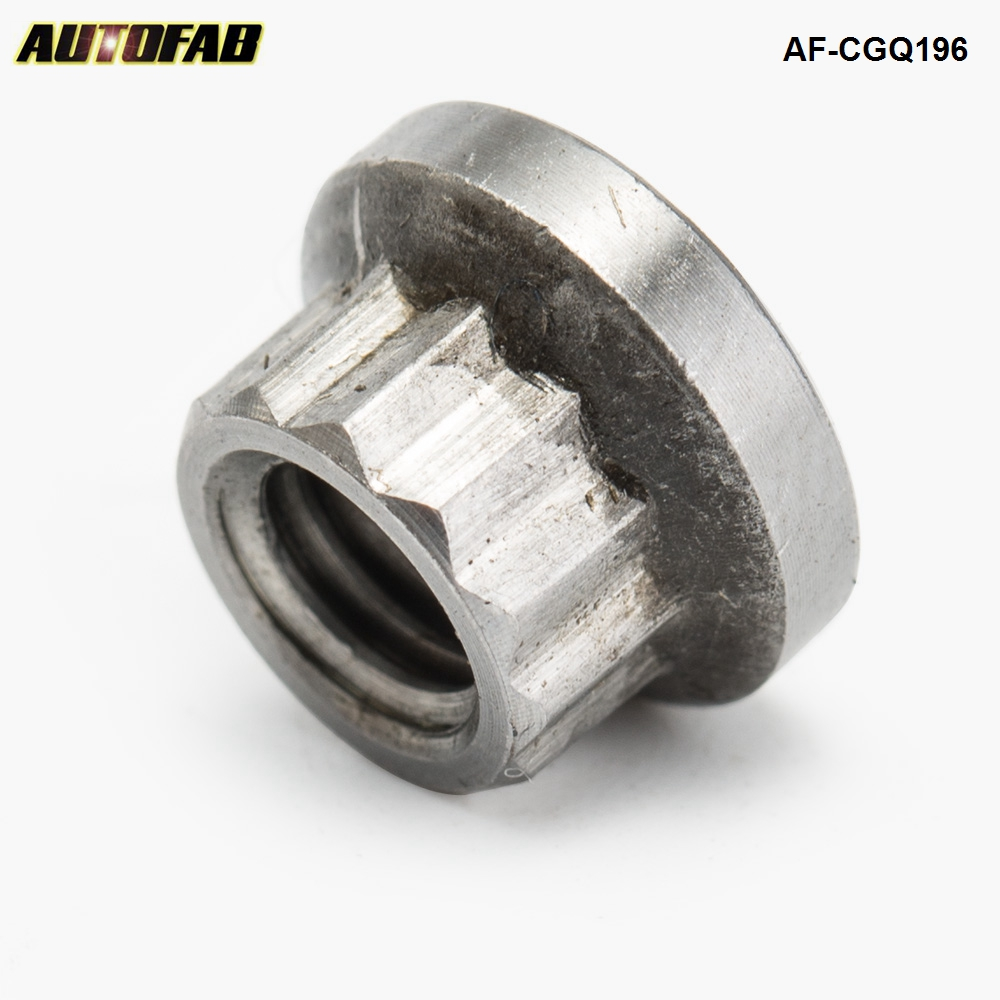 AUTOFAB-  Turbo Rebuild Turbocharger Shaft Nut For T2 T25 T28 Turbo Left Hand Thread M6 x1.0mm AF-CGQ196