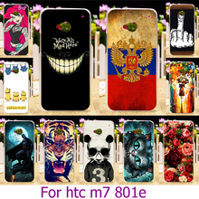 AKABEILA Soft TPU Plastic Phone Case For HTC ONE M7 802W Dual Sim Case For HTC ONE M7 801E 801S Single Sim 801 Case Cover Bags