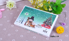 "32 pcs/pack ""Every day is Christmas"" Greeting Card Postcard Birthday Gift Card Set Message Postal Cards"
